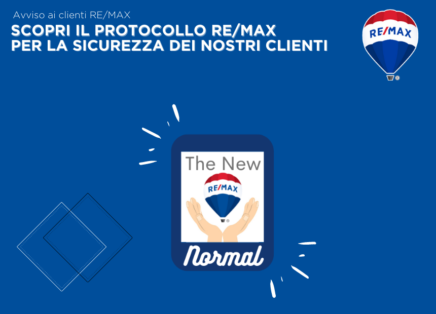 """<p>All RE/MAX Italia agencies have implemented a set of rules and daily procedures in compliance with current law requirements regarding &ldquo;Step 2&rdquo; of the Covid-19 emergency. The primary aim of these measures is to ensure that all parties involved in our business are safe while providing excellent client satisfaction. Our clients can benefit from the international reach of our brand, which is the largest in the worldwide real estate market.<br /> &nbsp;</p>  <p style=""""margin-bottom:12px""""><span style=""""font-size:12pt""""><span style=""""background:white""""><span style=""""font-family:&quot;Times New Roman&quot;,serif""""><span style=""""color:black""""><a href=""""https://www.remax.it/pagine/protocollo-re-max-di-sicurezza-clienti""""><strong><span lang=""""EN-GB"""" style=""""font-family:&quot;Arial&quot;,sans-serif""""><span style=""""color:#003da5""""><span style=""""text-decoration:none""""><span style=""""text-underline:none"""">Discover more and download our client safety protocol!</span></span></span></span></strong></a></span></span></span></span></p>"""