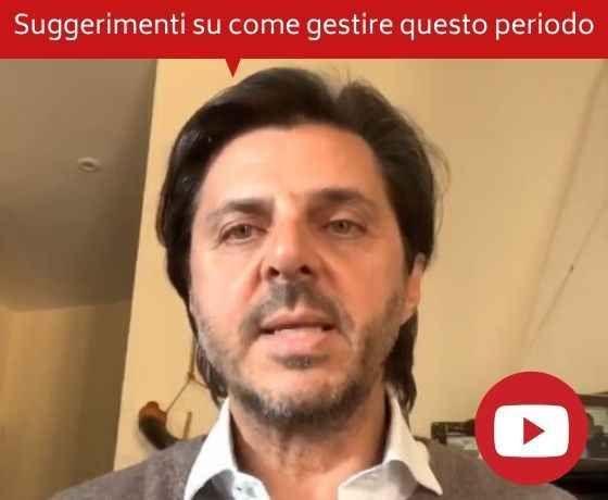 Messaggio dal CEO Dario Castiglia: suggerimenti su come gestire questo periodo