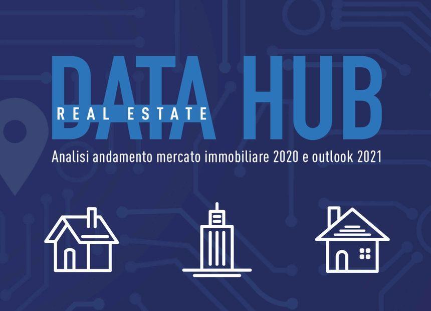 """<p>Scopri il Report: &quot;Analisi andamento mercato immobiliare 2020 e outlook 2021&quot; a cura di Real Estate DATA HUB. DATA HUB &egrave; un progetto che nasce dalla collaborazione, dalla condivisione del know how, dei dati, frutto della collaborazione tra Avalon e RE/MAX Italia con l&rsquo;obiettivo di fornire uno strumento chiaro e innovativo che sia di riferimento al panorama nazionale di settore.&nbsp;</p>  <p><a href=""""https://www.remax.it/pagine/real-estate-data-hub"""" target=""""_blank""""><strong>Scopri di pi&ugrave;</strong></a></p>"""