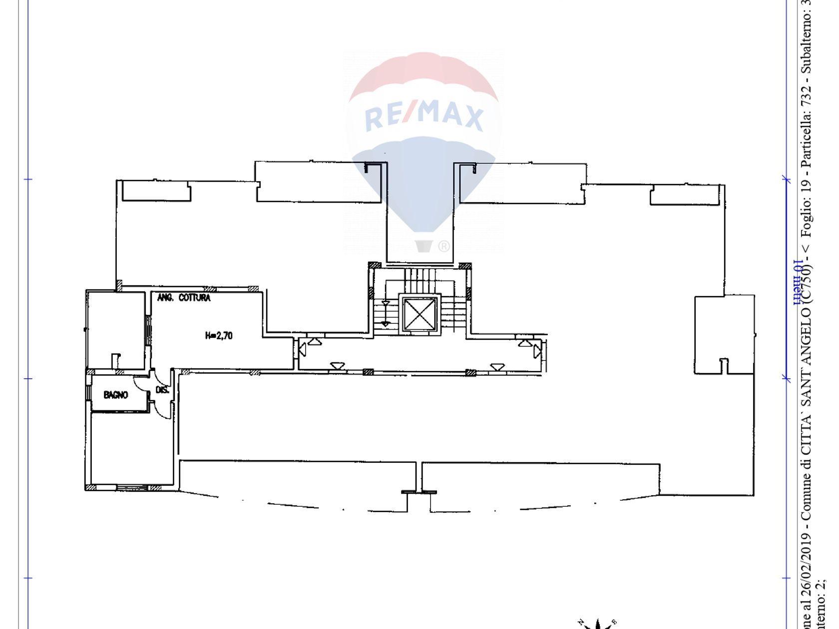 Appartamento Marina, Città Sant'Angelo, PE Vendita - Planimetria 1