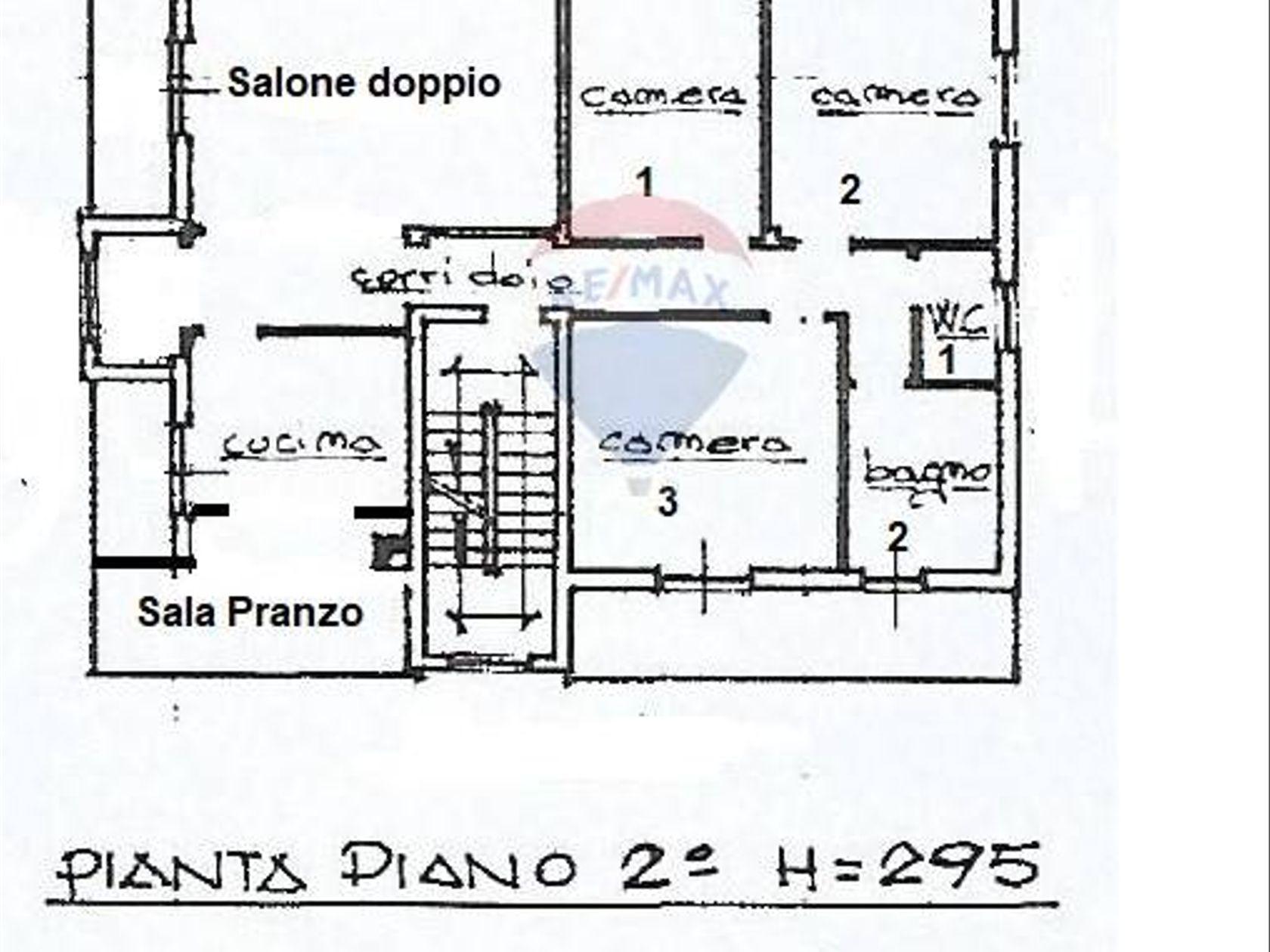 Porzione di villa Bruino, TO Vendita - Planimetria 1