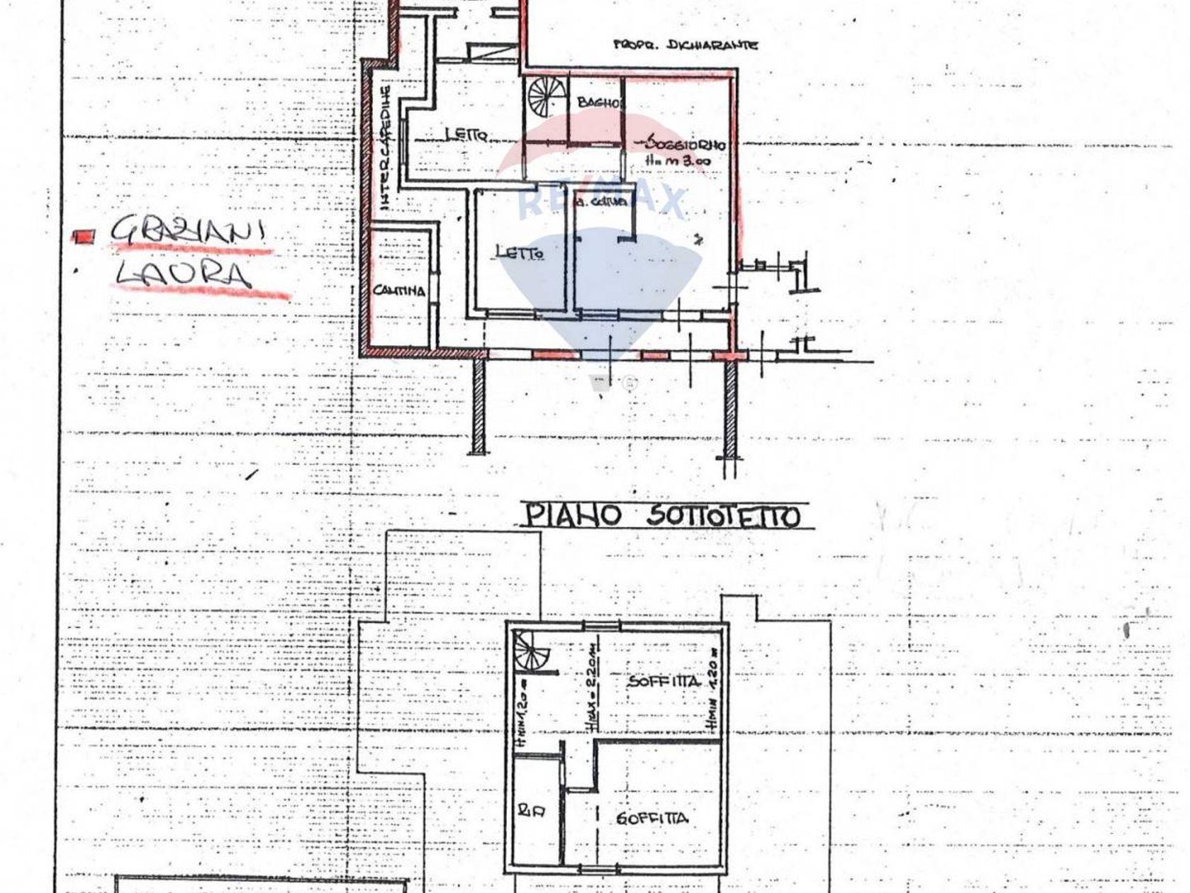 Villa singola Grottaferrata, RM Vendita - Planimetria 3