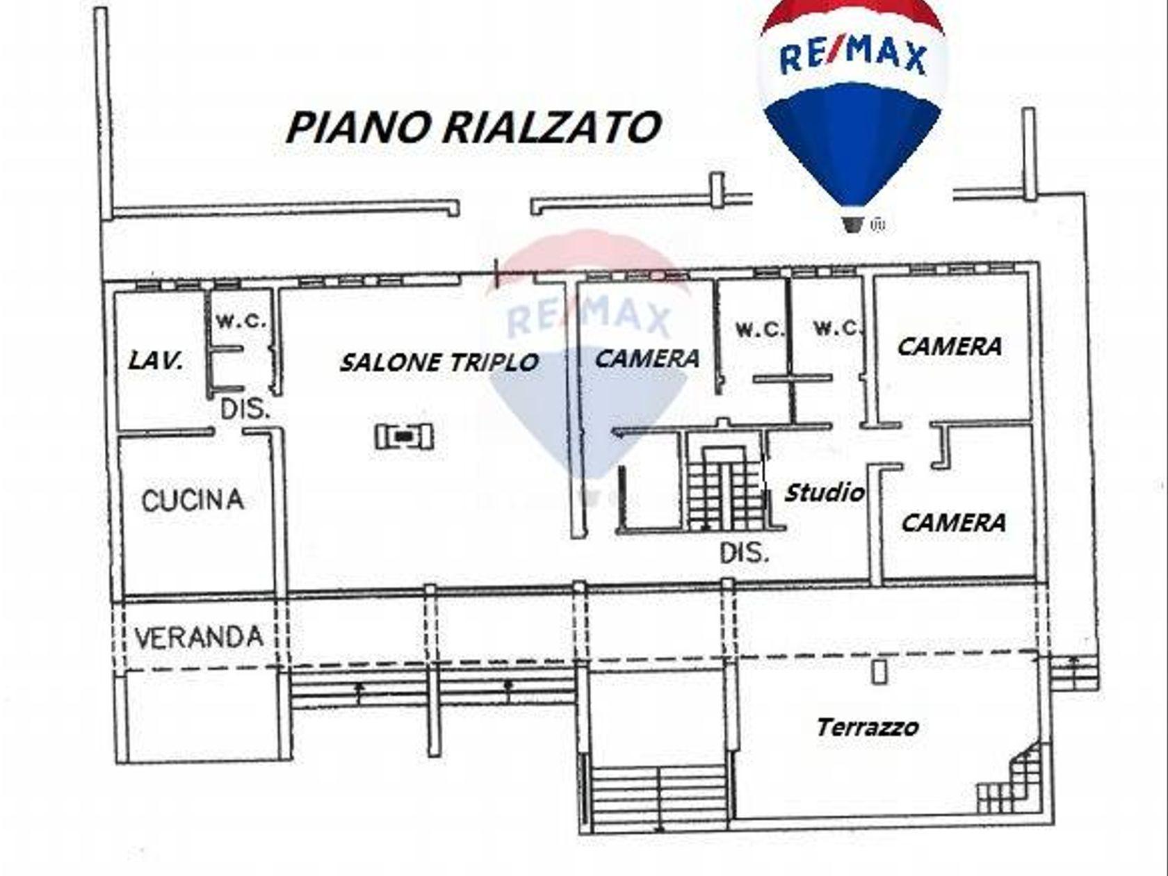 Villa singola Erice, TP Vendita - Planimetria 1
