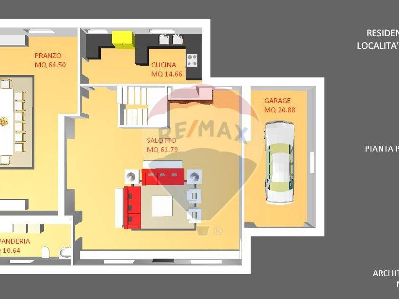 Villa singola Vignola Mare, Aglientu, OT Vendita - Planimetria 8