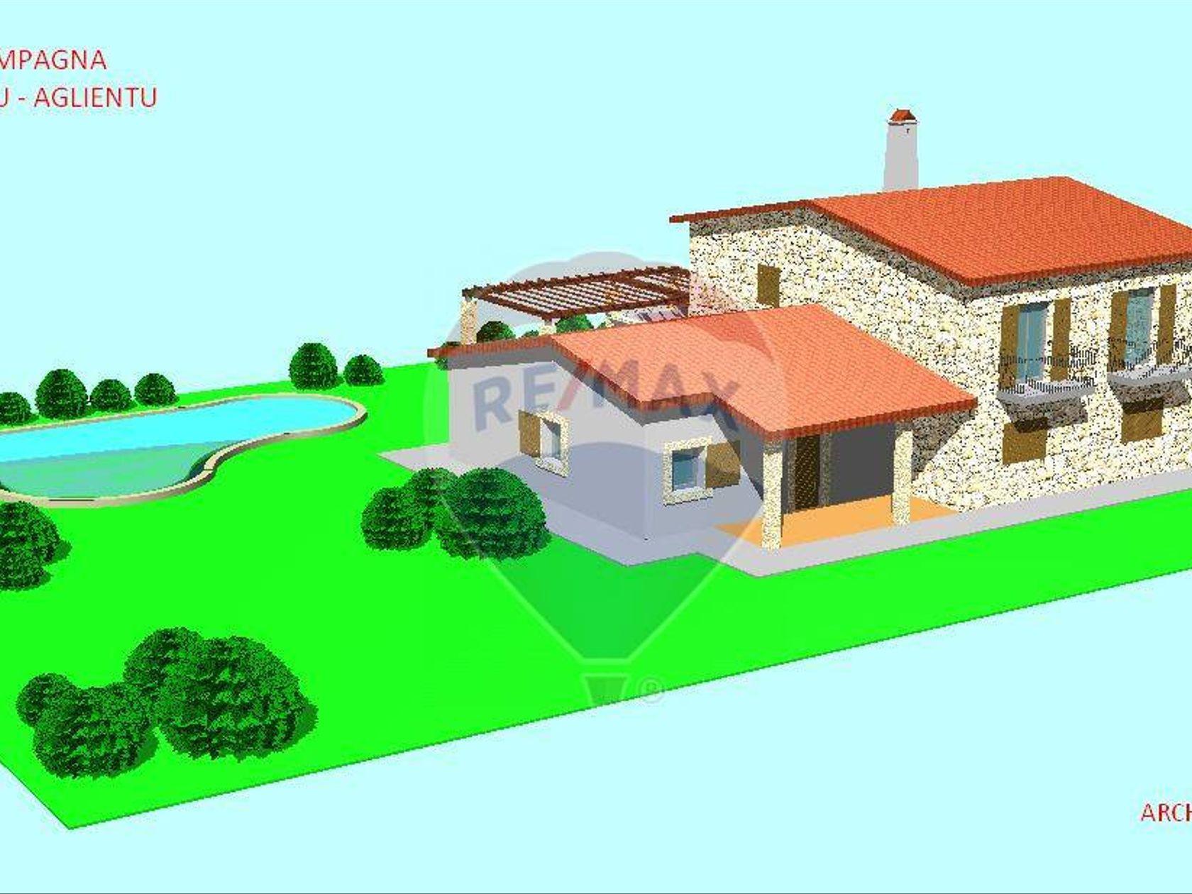 Villa singola Vignola Mare, Aglientu, OT Vendita - Planimetria 5