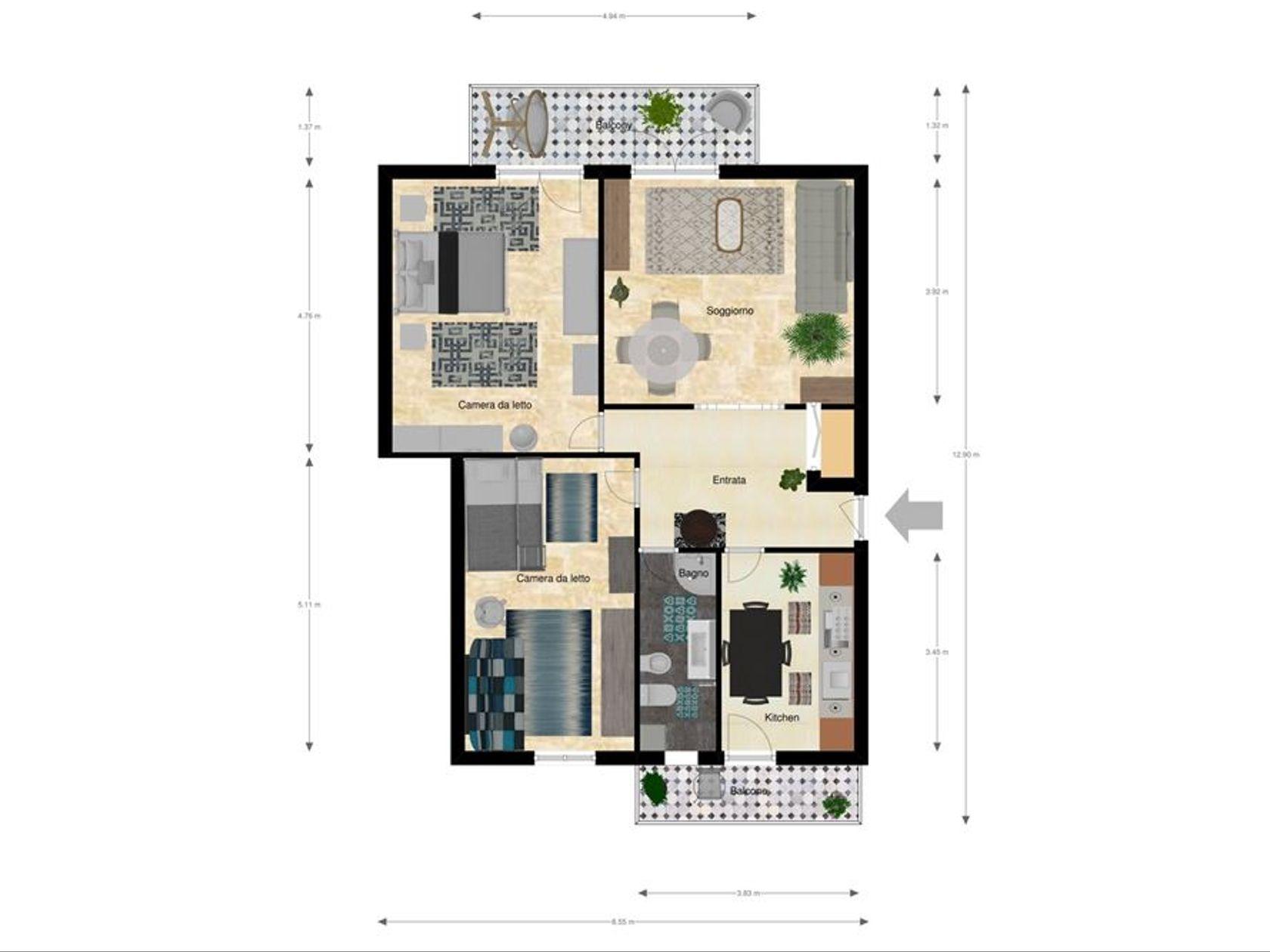 Appartamento Vercelli, VC Vendita - Foto 17
