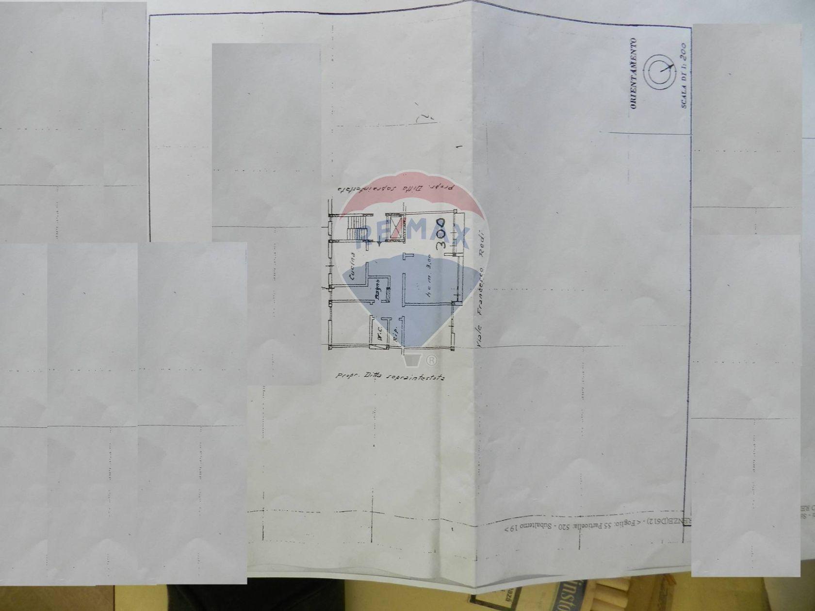 Appartamento Firenze - Porta A Prato San Jacopino Fortezza, Firenze, FI Vendita - Planimetria 5