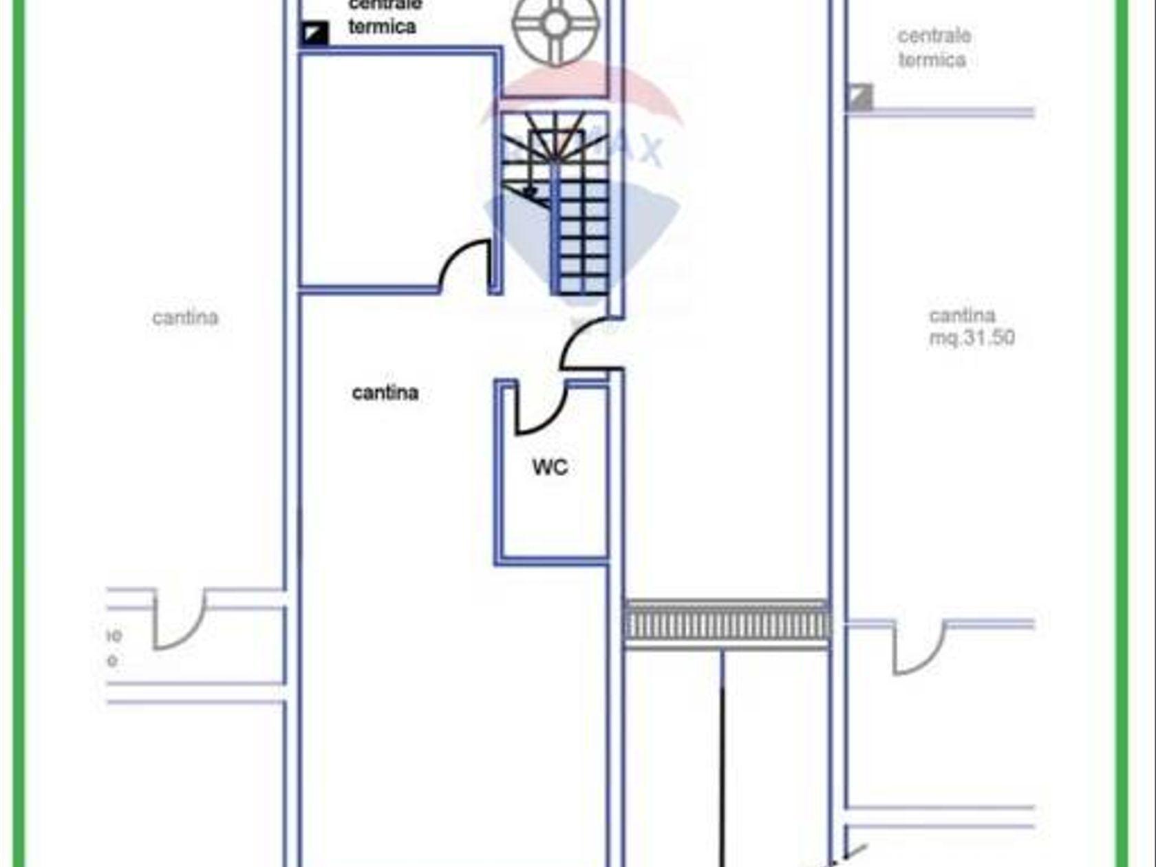 Villa a schiera Grottaferrata, RM Vendita - Planimetria 4