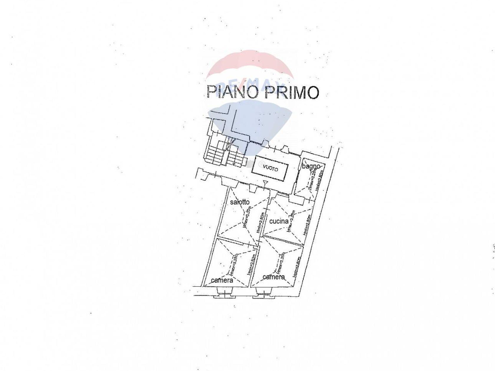 Appartamento Centro storico, L'Aquila, AQ Vendita - Planimetria 1