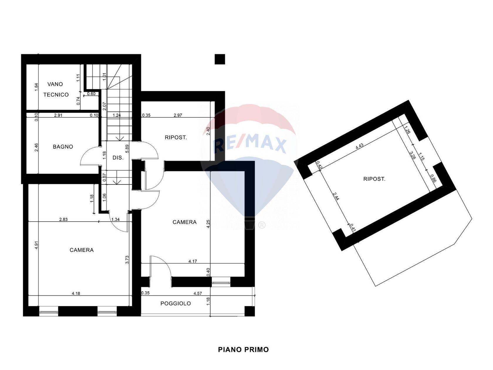 Casa Indipendente Castelnuovo, Teolo, PD Vendita - Planimetria 1