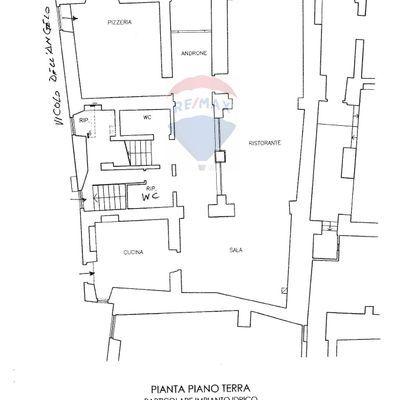 Albergo/Hotel Spoleto, PG Vendita - Planimetria 4
