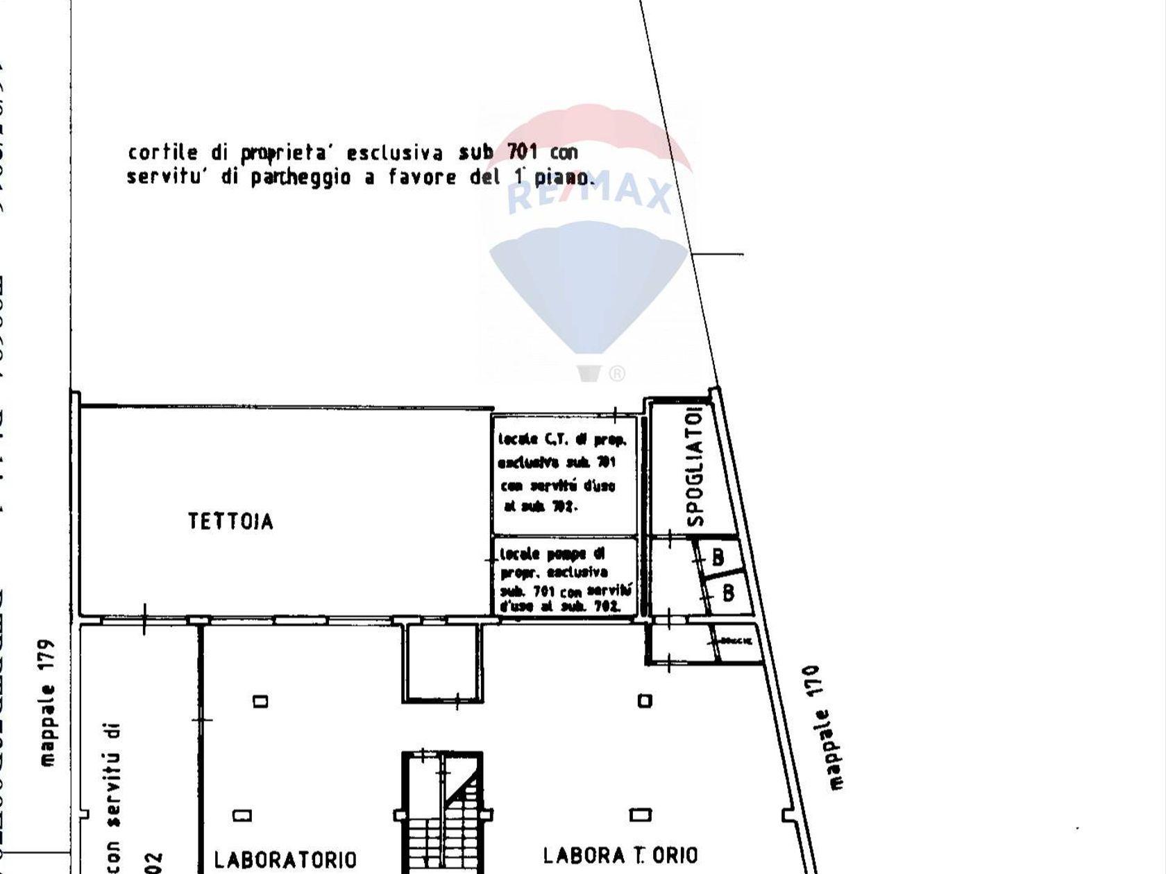 Ufficio Zona V.le Lombardia, Cologno Monzese, MI Vendita - Planimetria 1