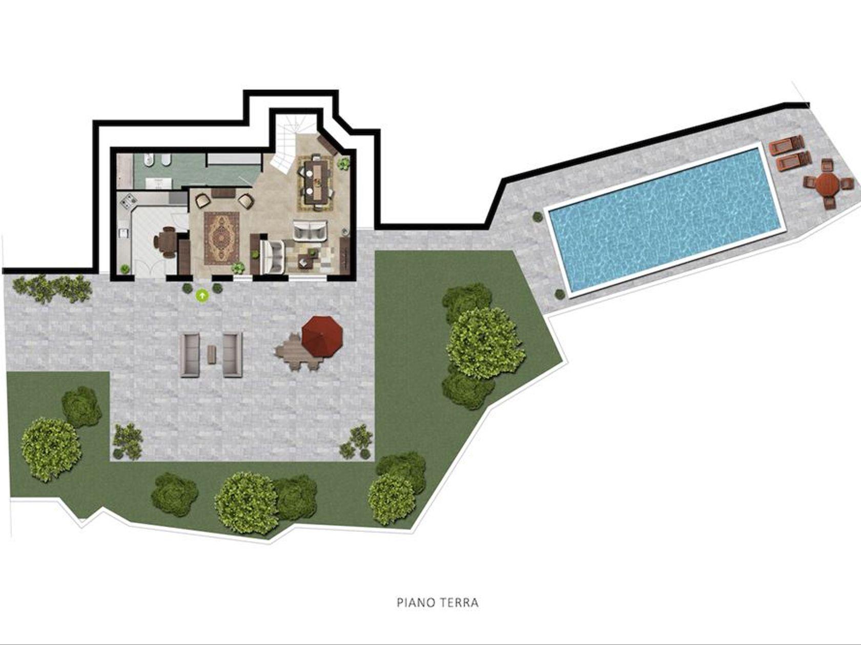 Villa singola Recco, GE Vendita - Foto 3