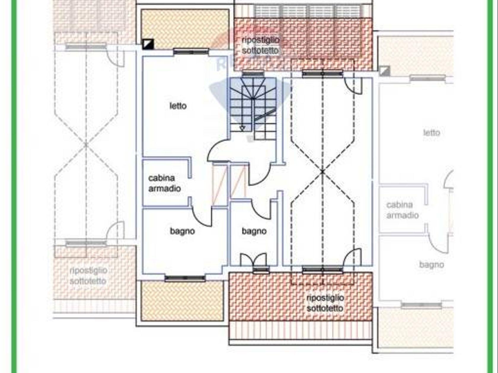 Villa a schiera Grottaferrata, RM Vendita - Planimetria 3