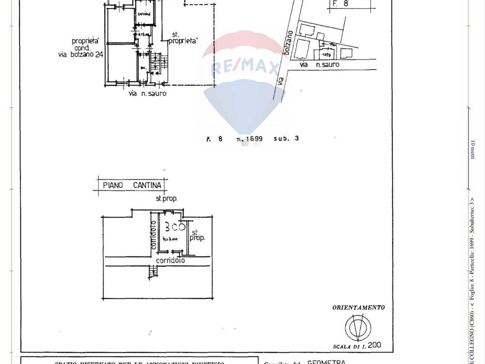 Casa Indipendente Santa Maria, Collegno, TO Vendita - Planimetria 1