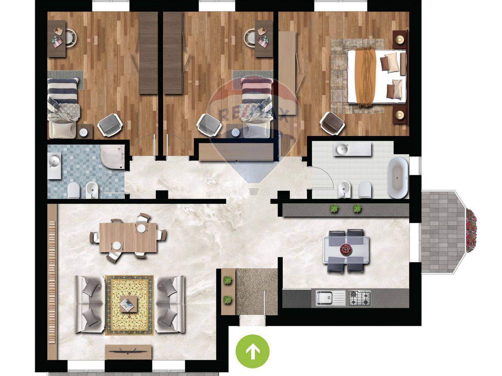 Appartamento Parabiago, MI Vendita - Planimetria 2