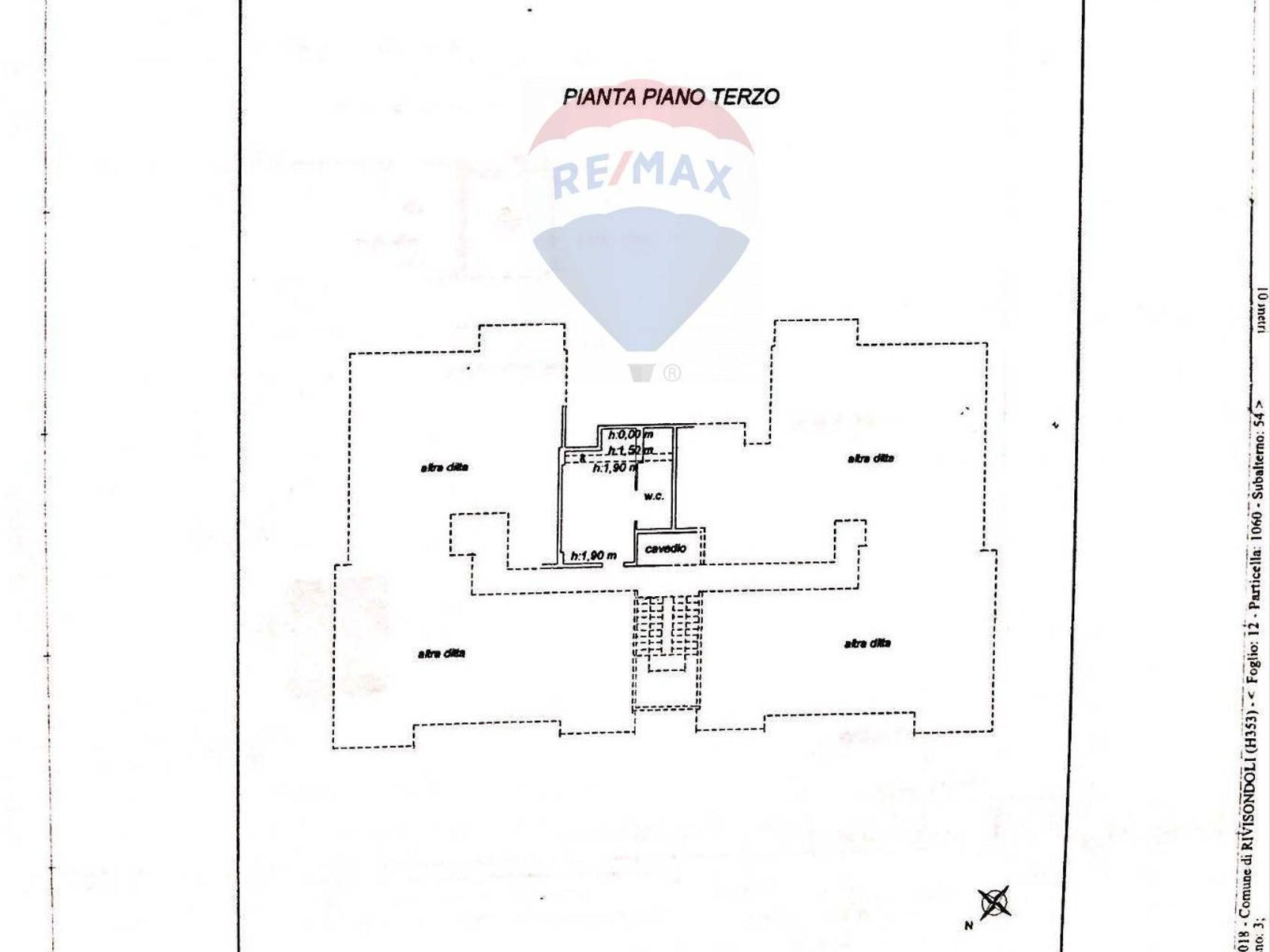 Appartamento Rivisondoli, AQ Vendita - Planimetria 2