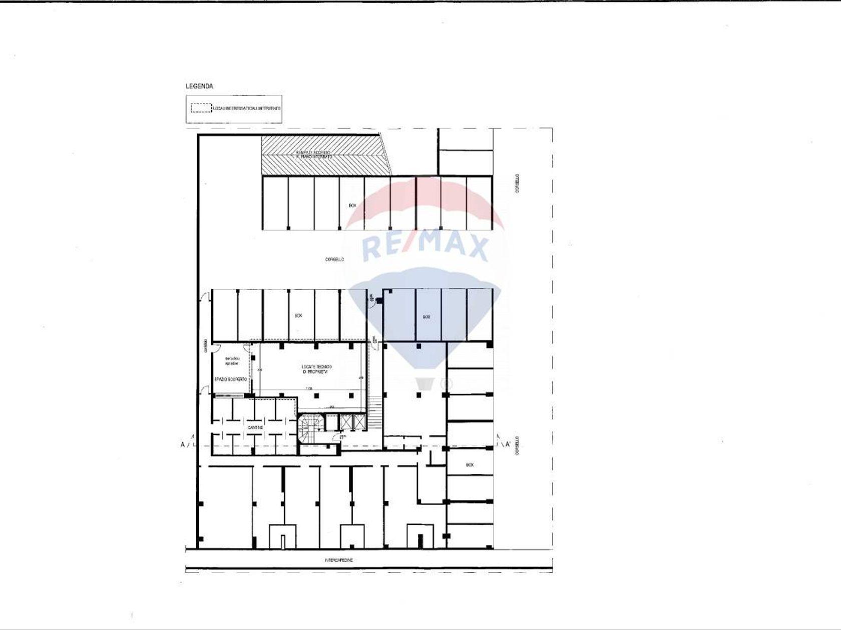 Ufficio Palmanova, Milano, MI Affitto - Planimetria 2