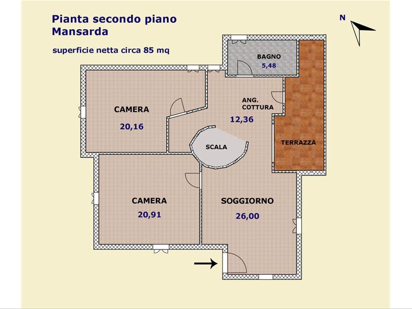 Porzione di villa Cagliari-quartiere Europeo, Cagliari, CA Vendita - Foto 30