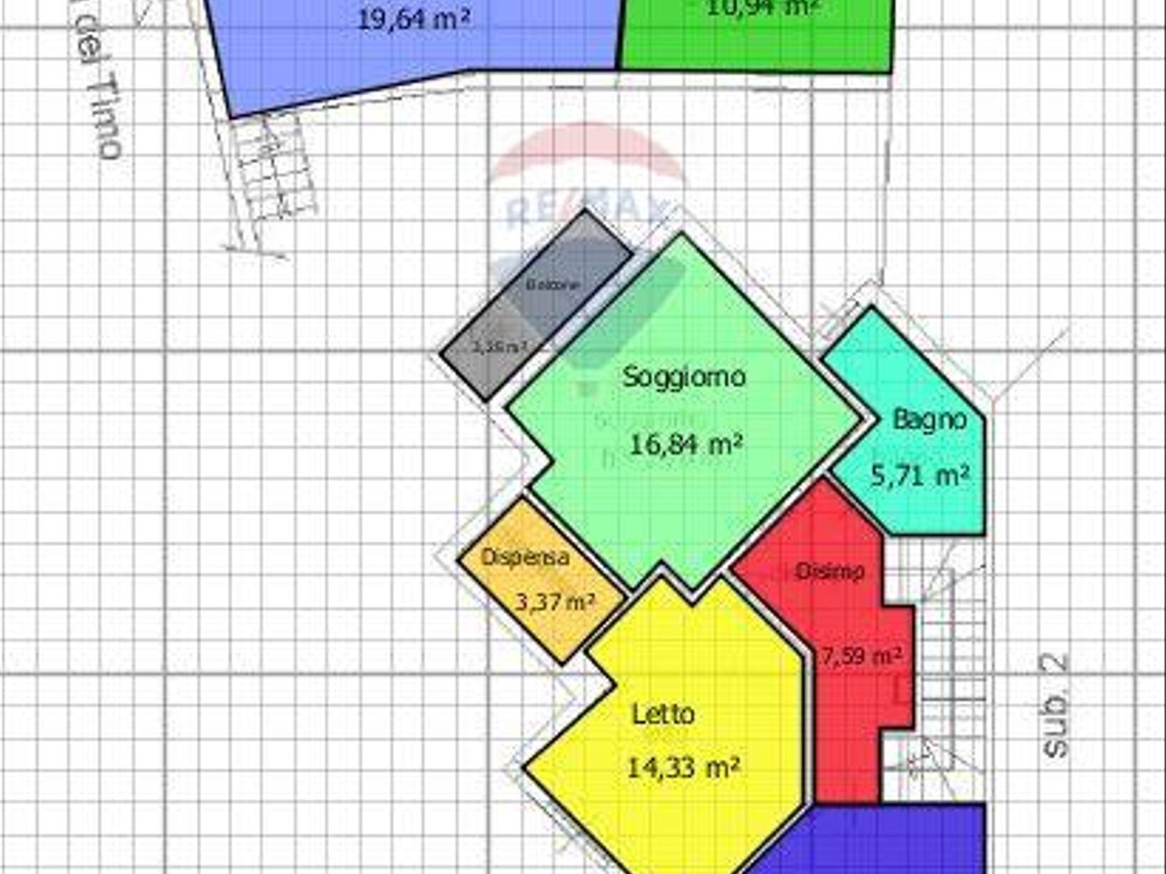 Villetta bifamiliare Sinnai-zona Centro, Sinnai, CA Vendita - Planimetria 4