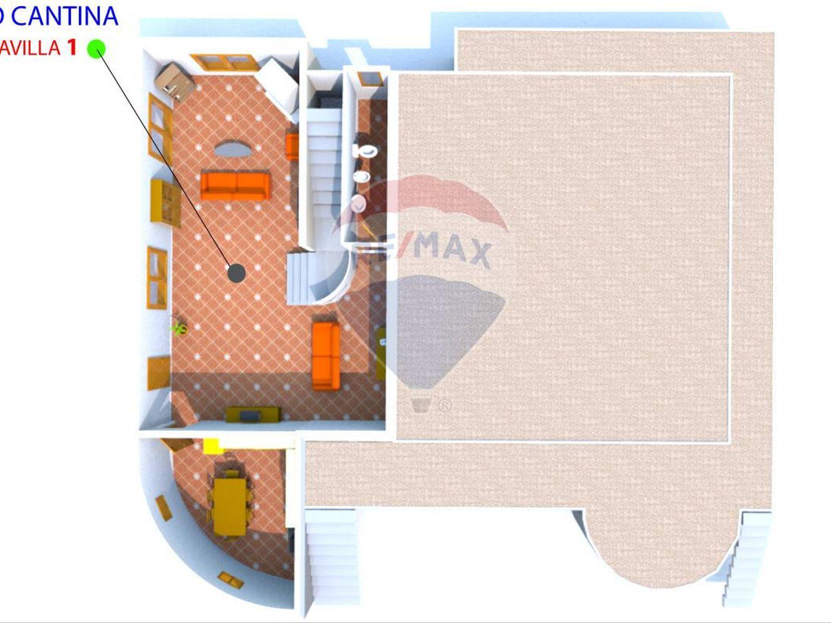 Villa singola San Gregorio di Catania, CT Vendita - Planimetria 1