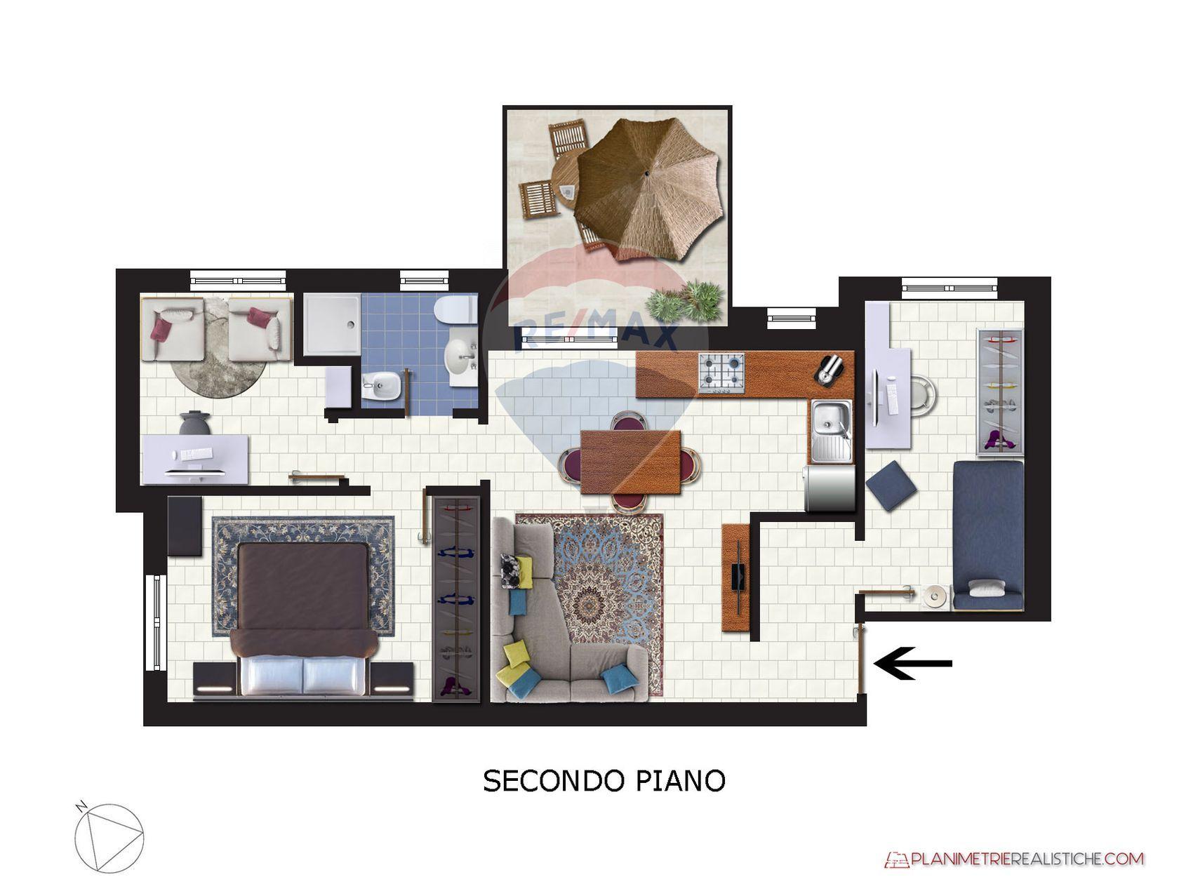 Appartamento Silvi Marina, Silvi, TE Vendita - Planimetria 1