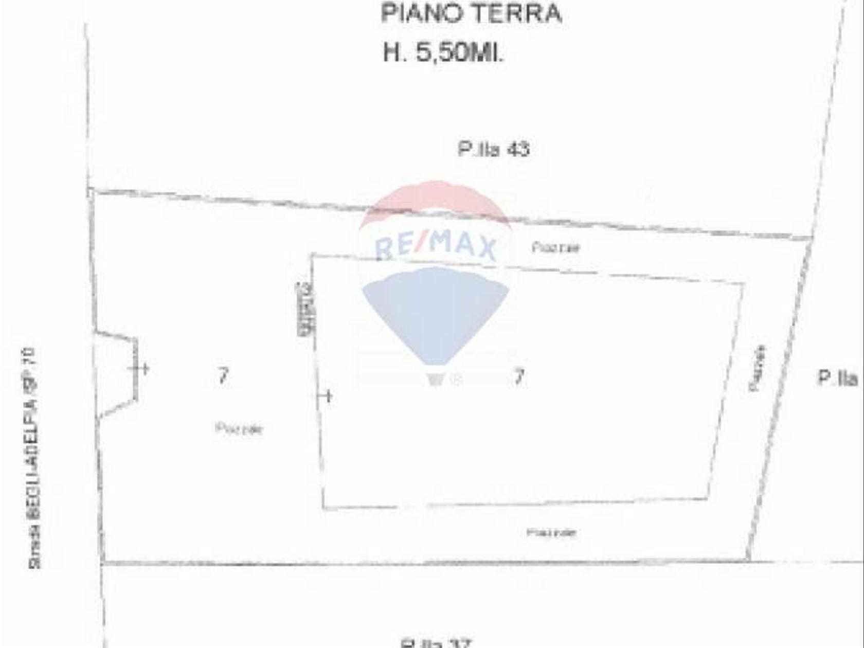 Capannone Industriale Ceglie del Campo, Bari, BA Vendita - Planimetria 1