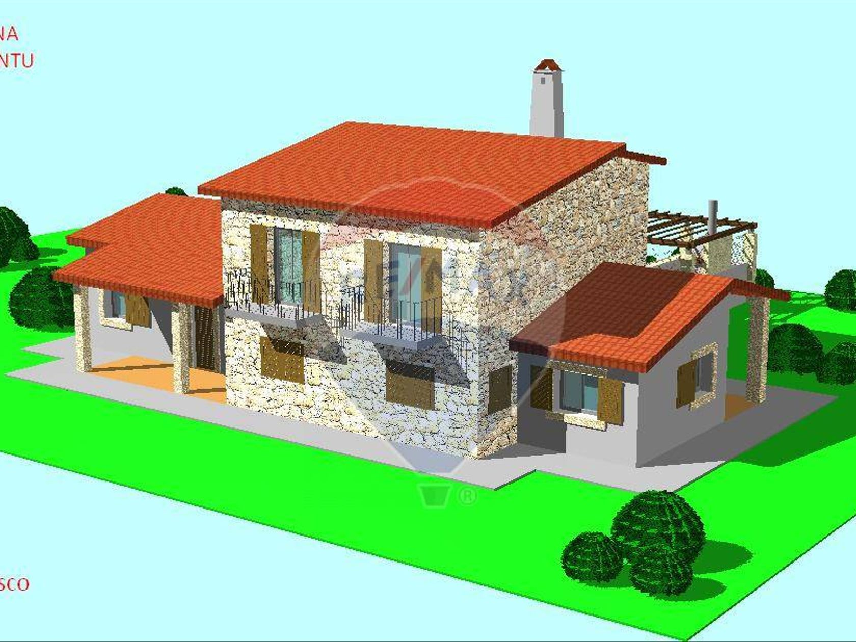 Villa singola Vignola Mare, Aglientu, OT Vendita - Planimetria 4