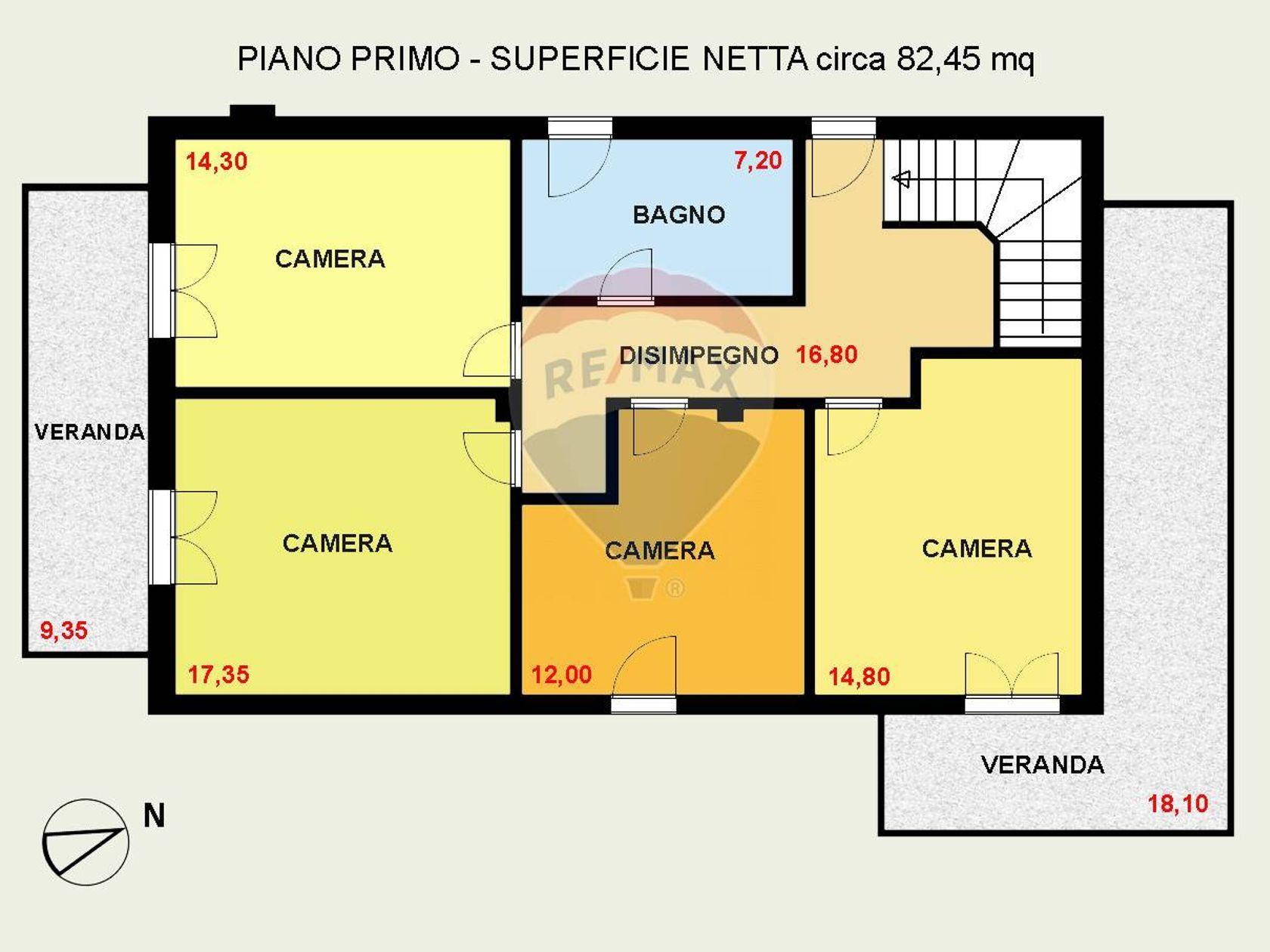 Villa singola Cagliari-quartiere Europeo, Cagliari, CA Vendita - Planimetria 2