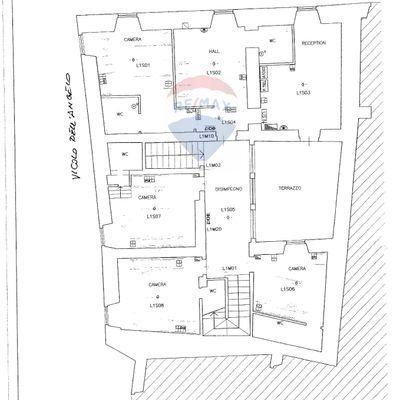 Albergo/Hotel Spoleto, PG Vendita - Planimetria 1