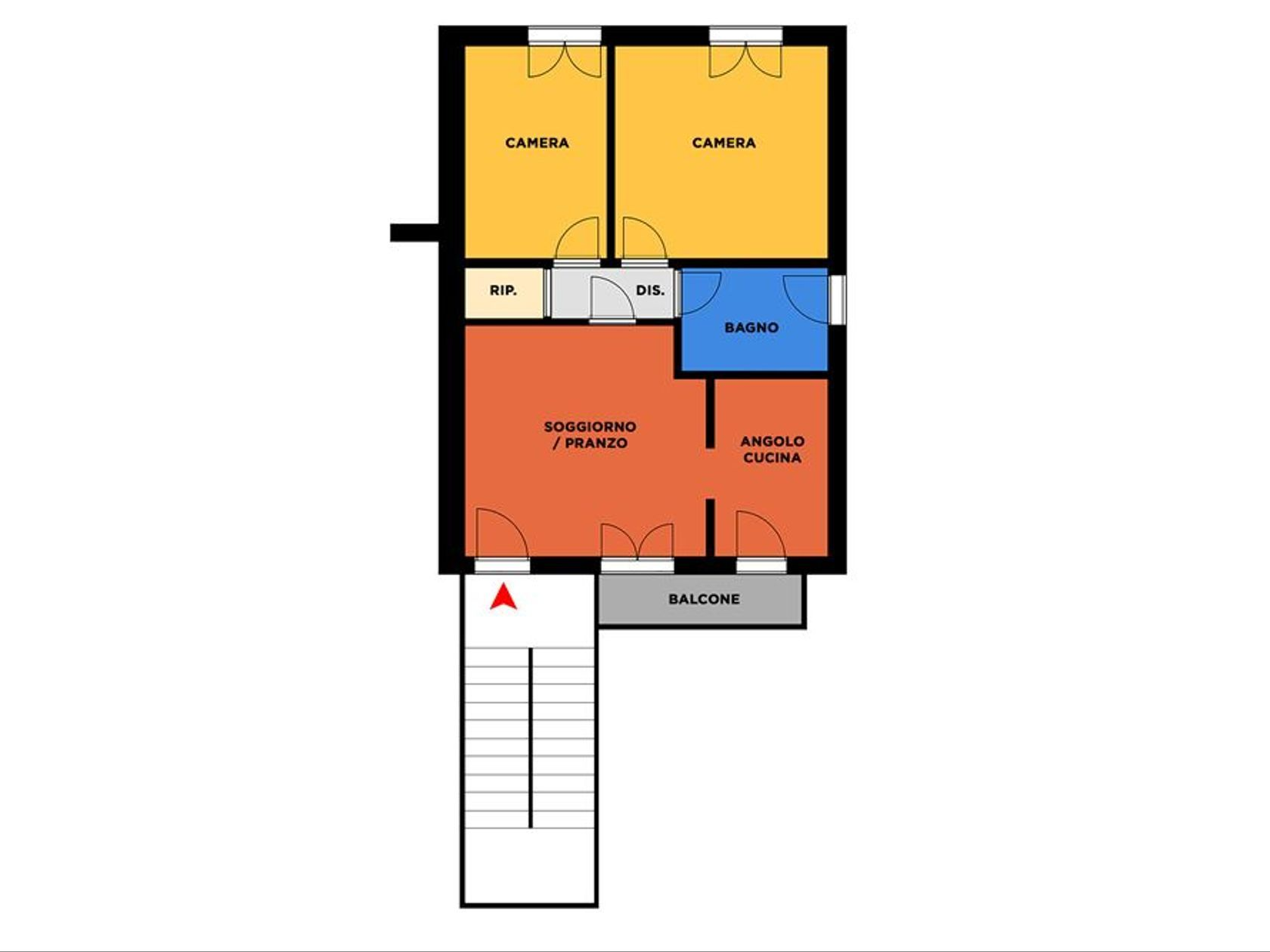 Appartamento San Giovanni Suergiu, CI Vendita - Foto 14