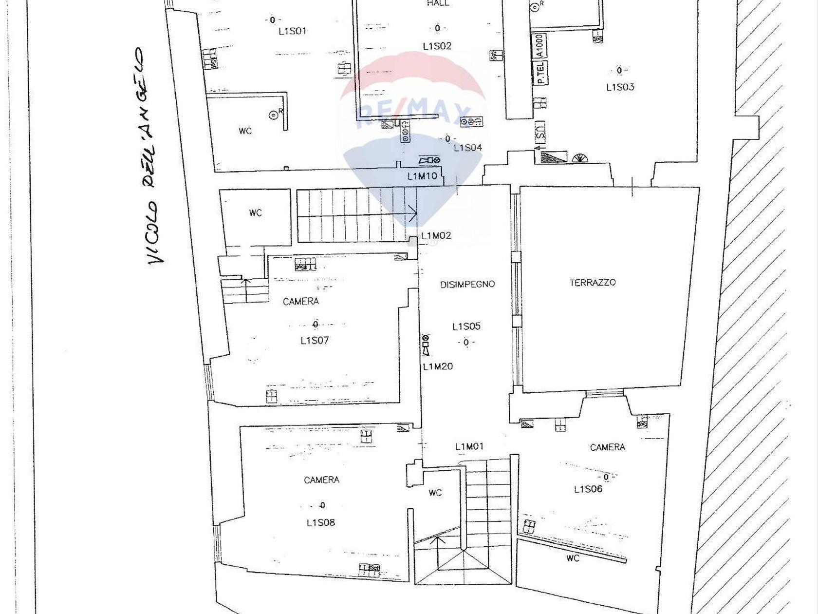 Stabile/Palazzo Spoleto, PG Affitto - Planimetria 1