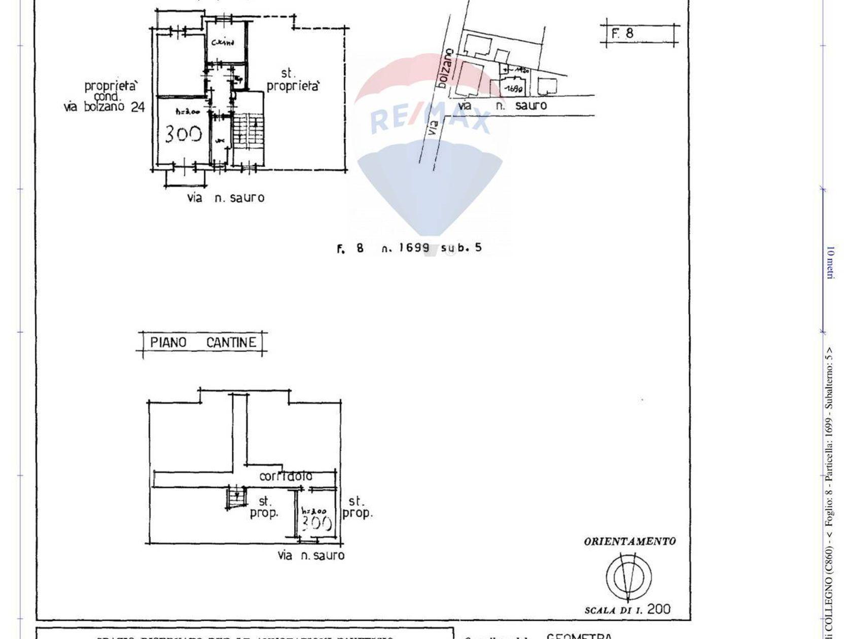 Casa Indipendente Santa Maria, Collegno, TO Vendita - Planimetria 3