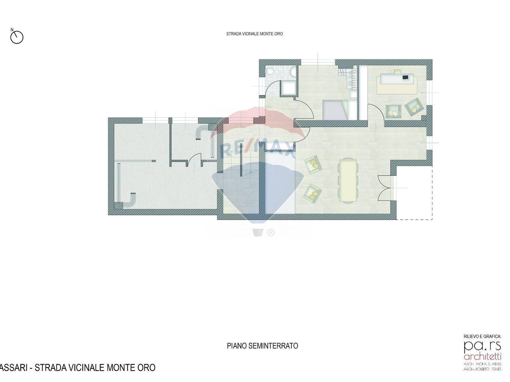 Villa singola Ss-li Punti, Sassari, SS Vendita - Planimetria 4