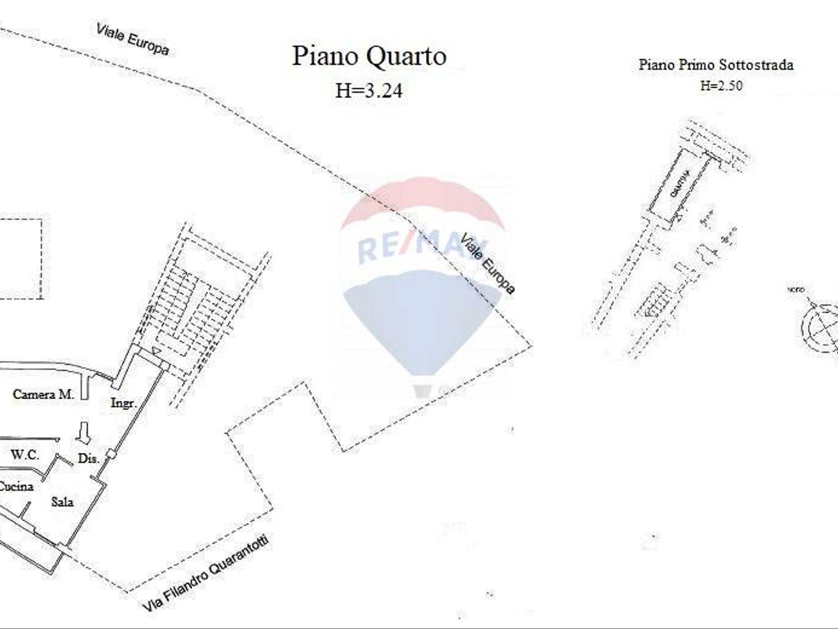 Appartamento V. Europa, Chieti, CH Vendita - Planimetria 1