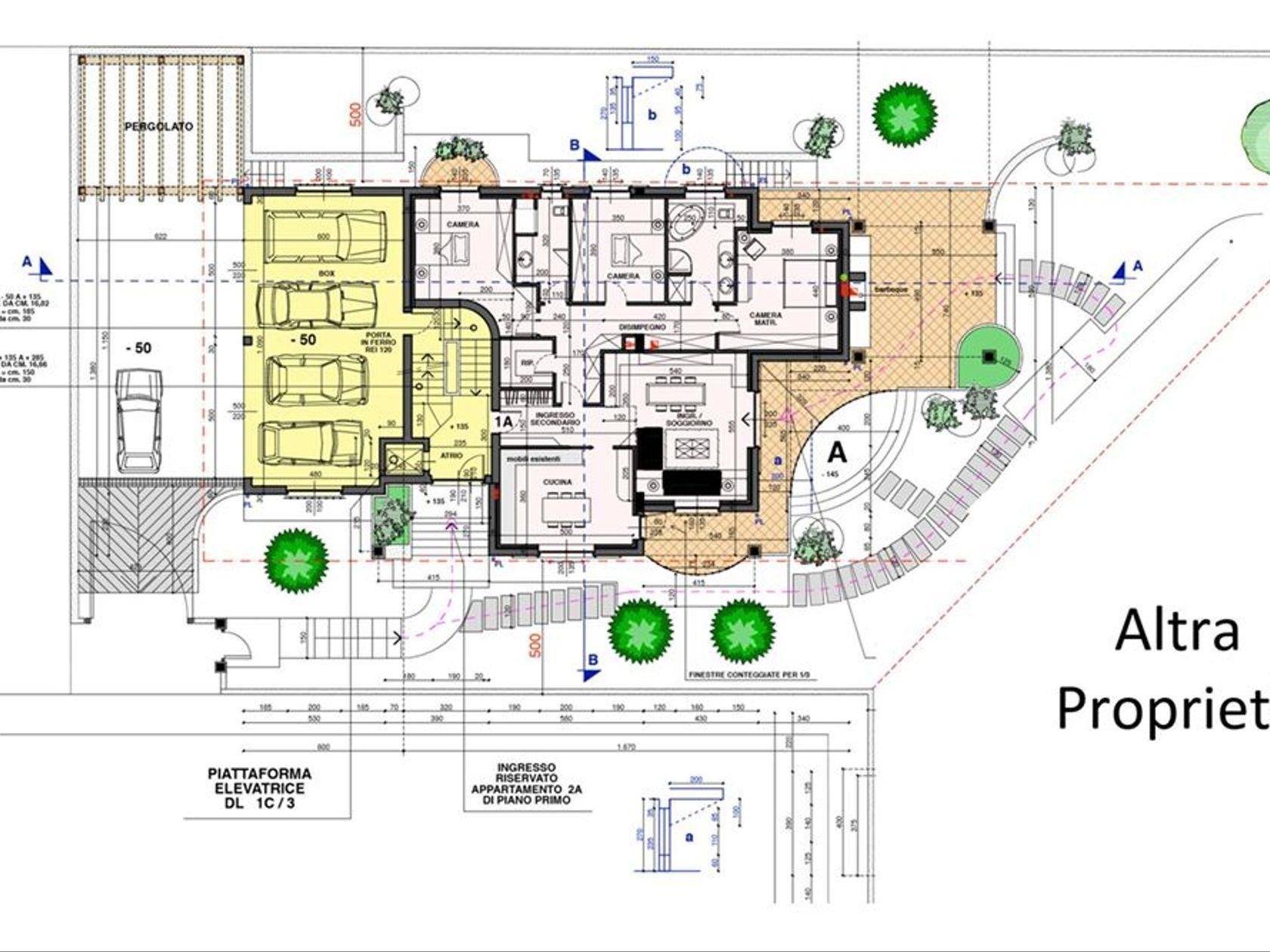 Villa singola Ravello, Parabiago, MI Vendita - Planimetria 3