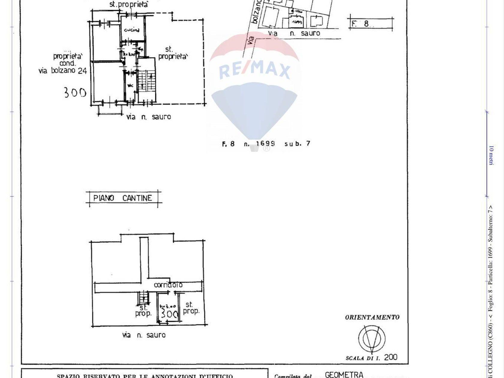 Casa Indipendente Santa Maria, Collegno, TO Vendita - Planimetria 5
