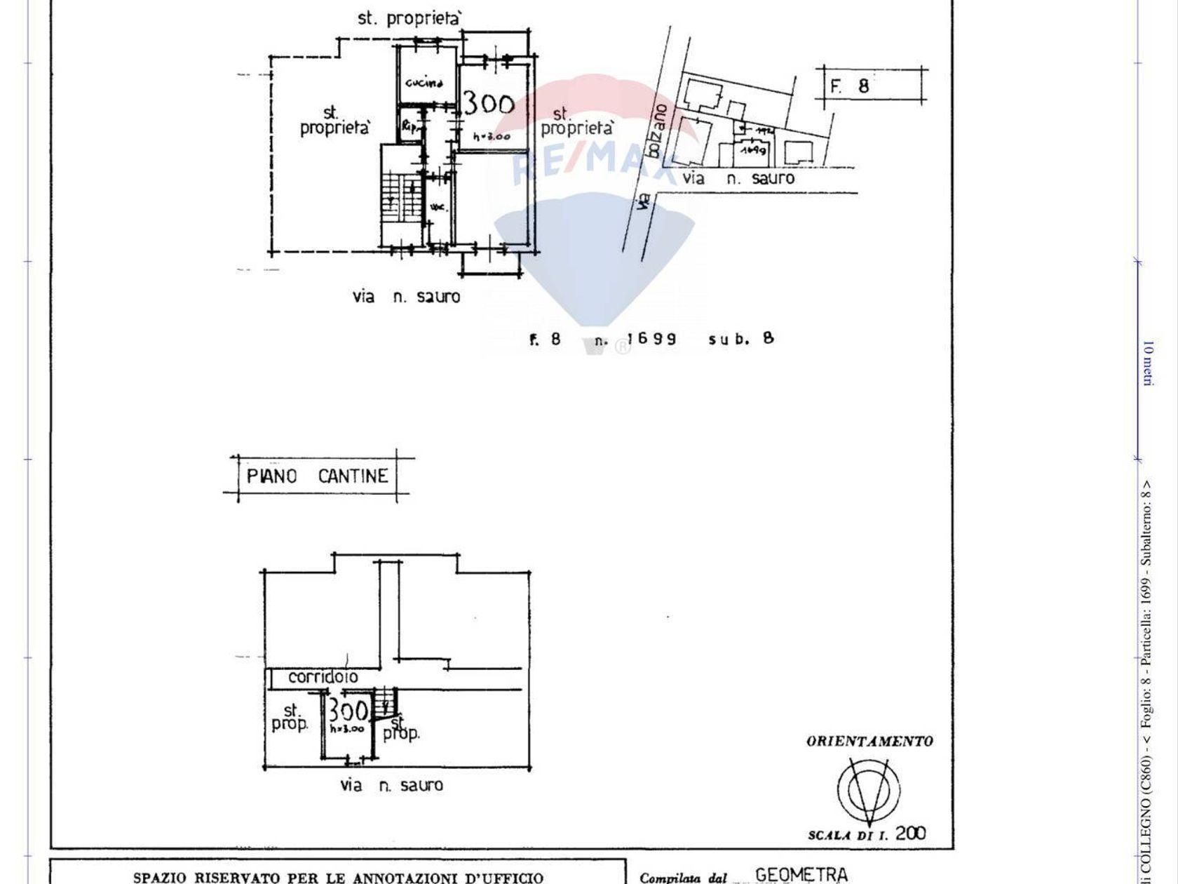 Casa Indipendente Santa Maria, Collegno, TO Vendita - Planimetria 6