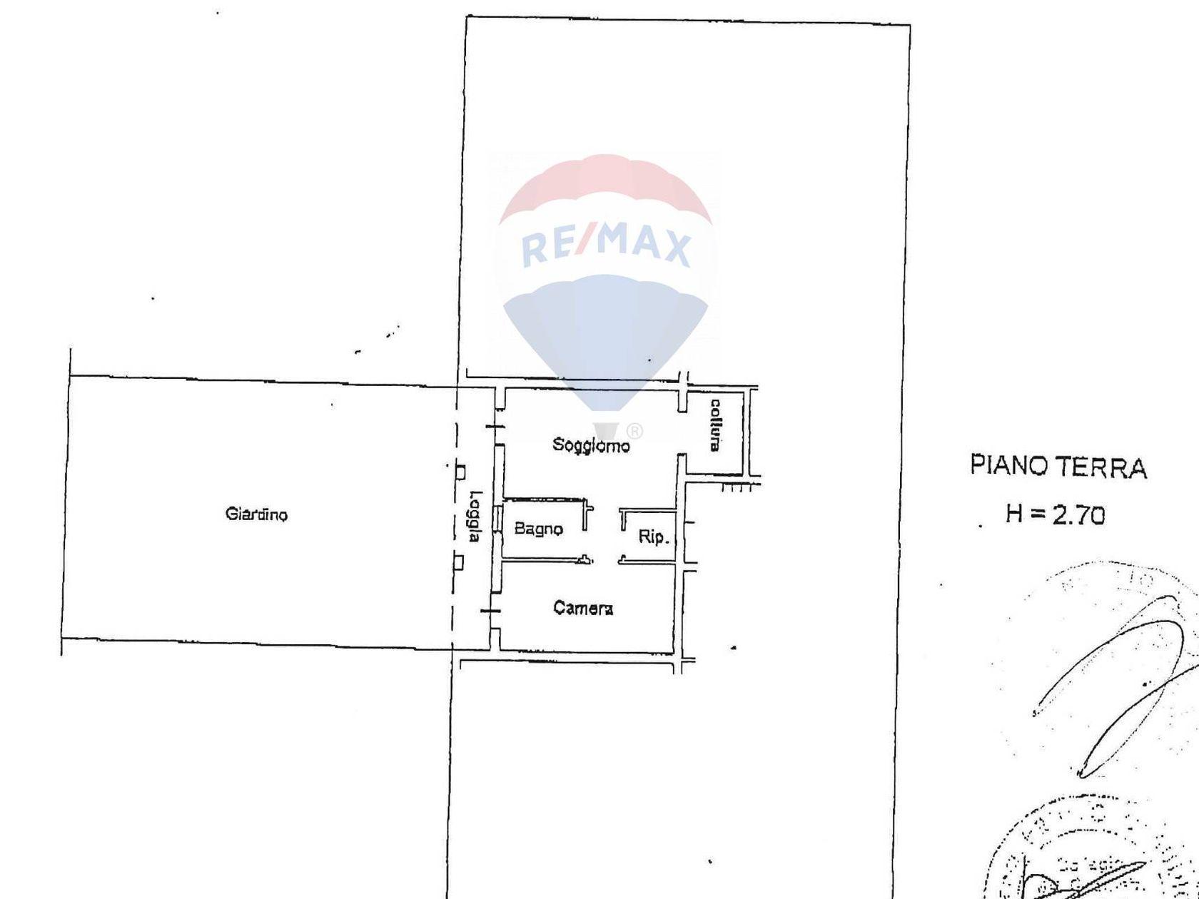 Appartamento Cantarana, Cona, VE Vendita - Planimetria 1