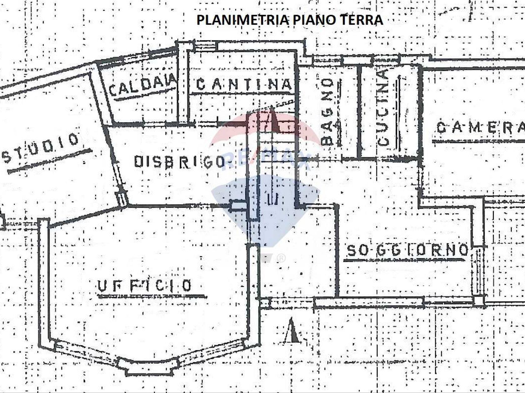 Villa singola Brenzone sul Garda, VR Vendita - Planimetria 1