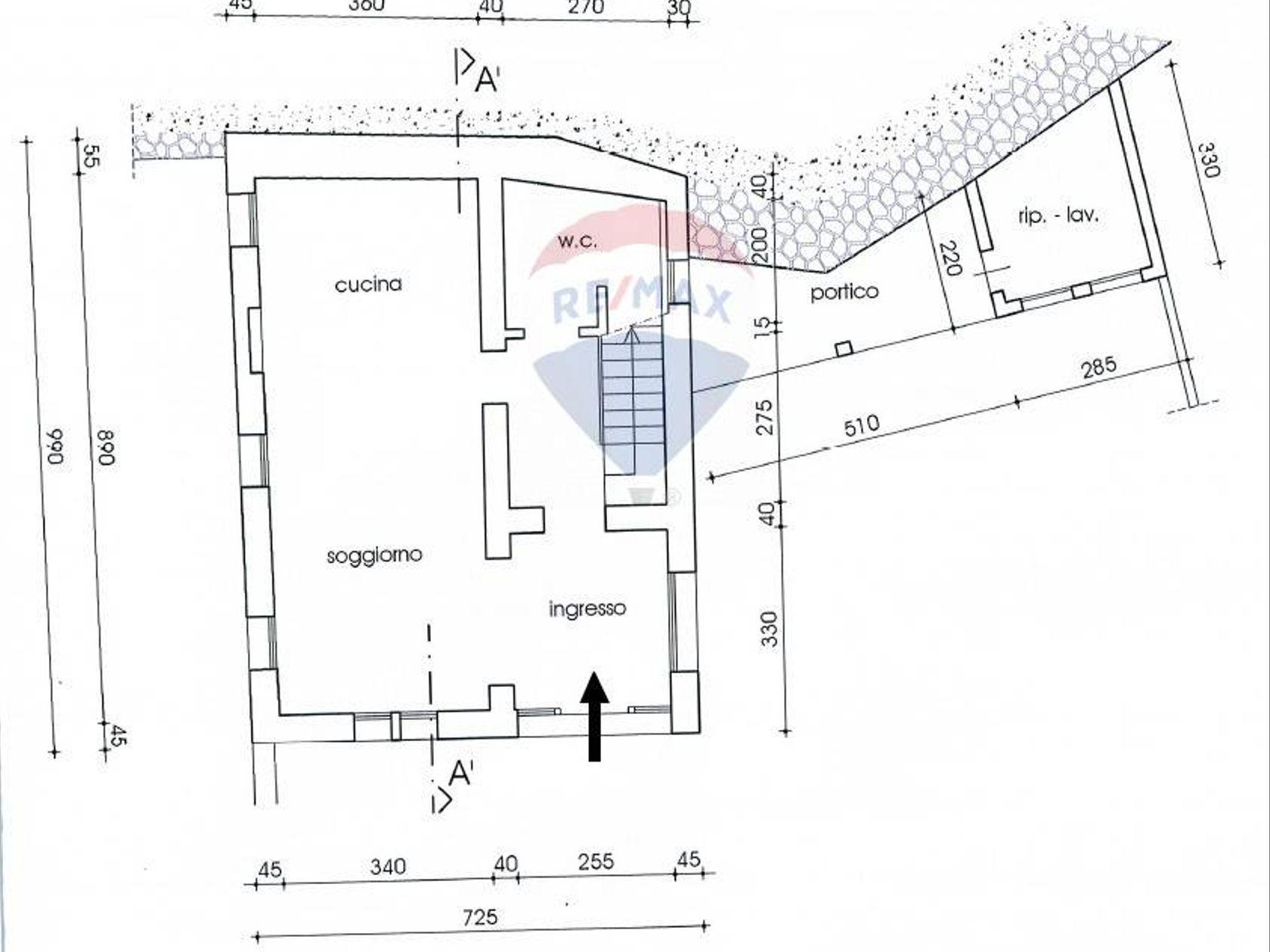 Casa Indipendente Asolo, TV Vendita - Planimetria 3