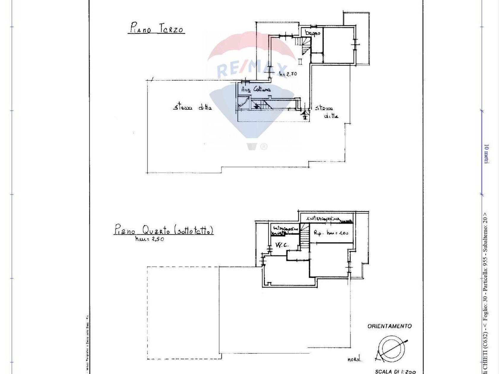 Appartamento Semicentro, Chieti, CH Vendita - Planimetria 1