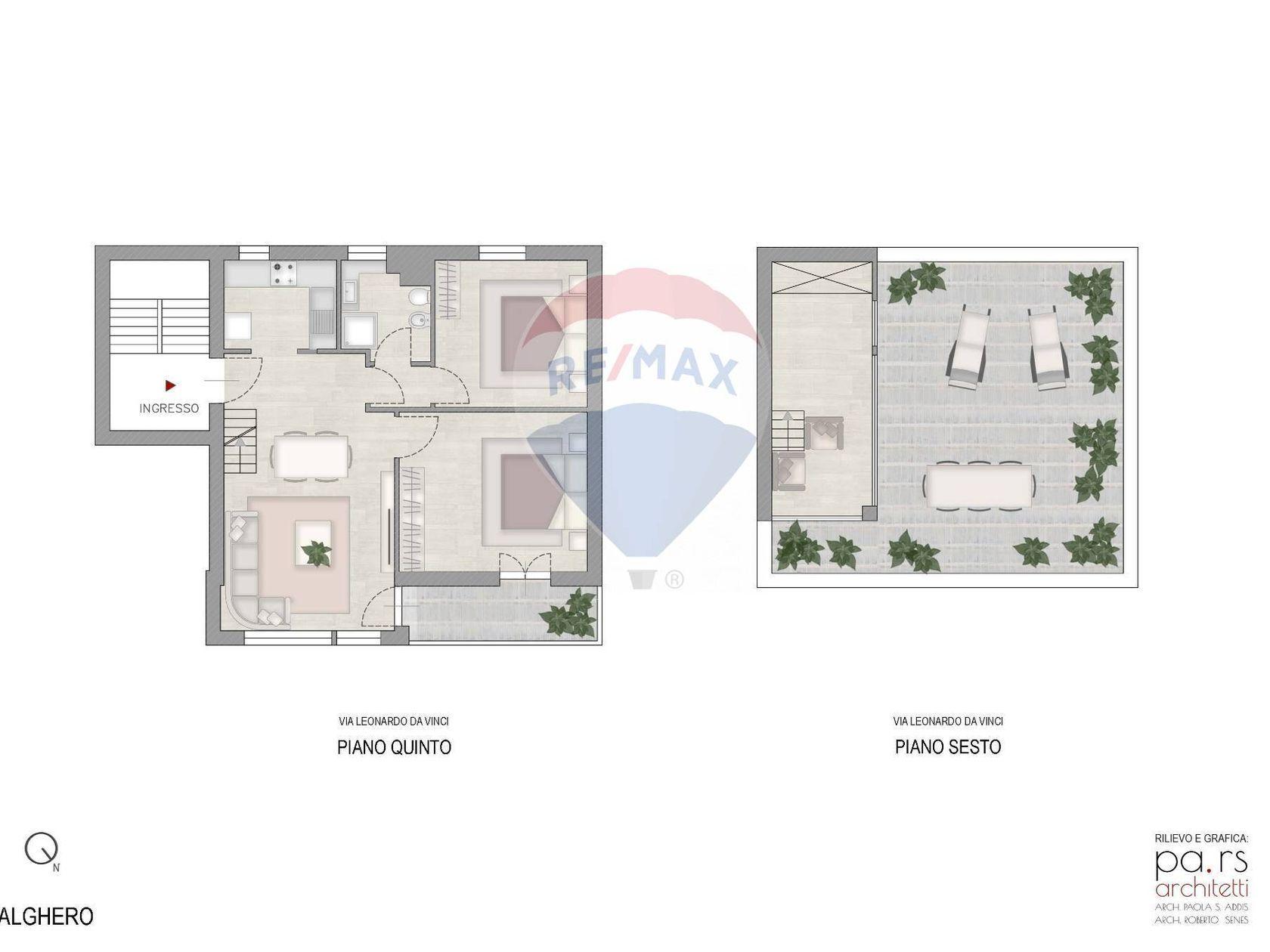 Appartamento Alghero, SS Vendita - Planimetria 2