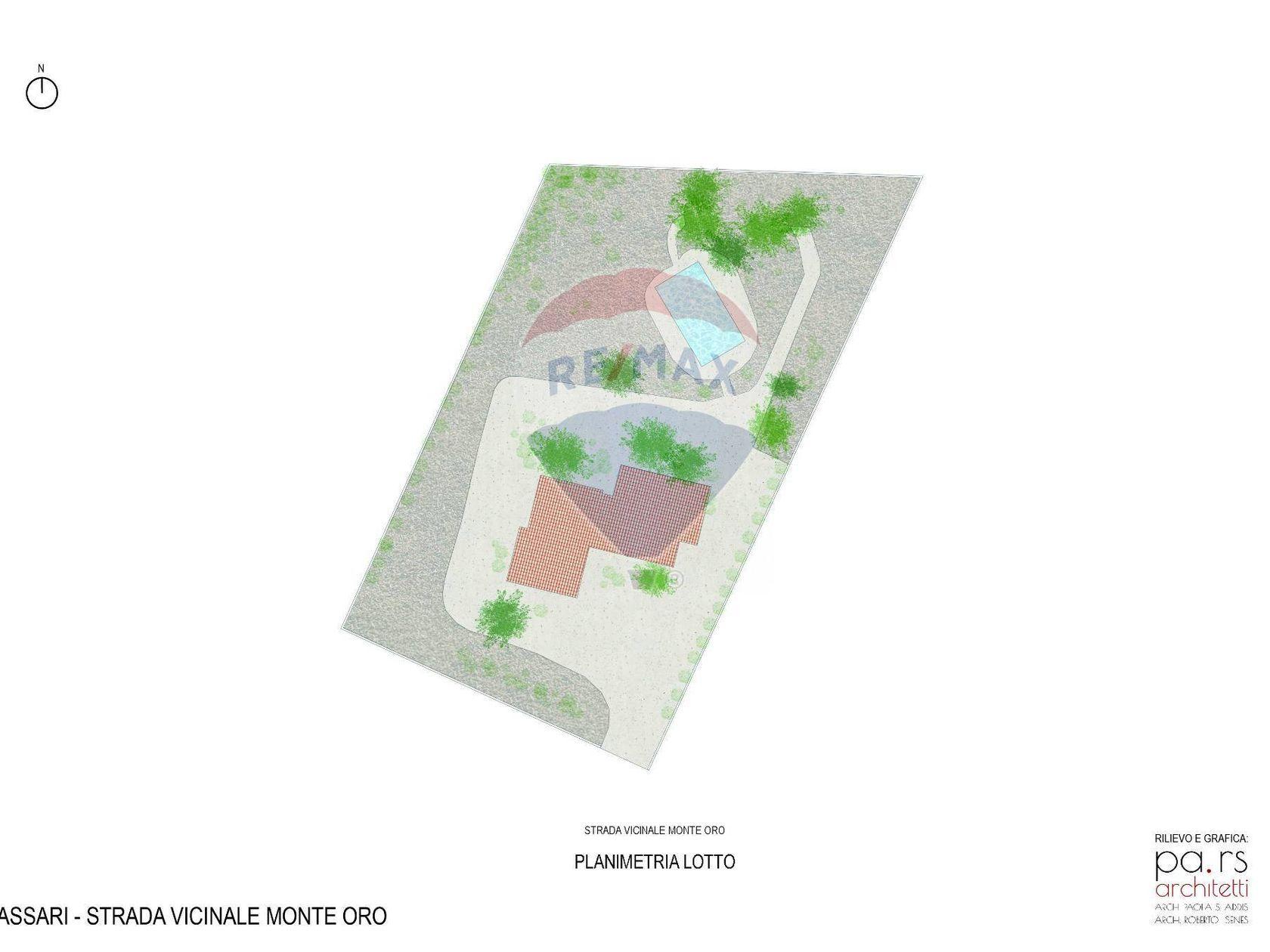 Villa singola Ss-li Punti, Sassari, SS Vendita - Planimetria 3