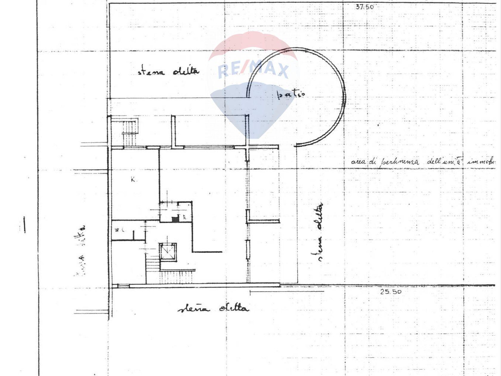Villa a schiera S. Spirito, Bari, BA Vendita - Planimetria 3