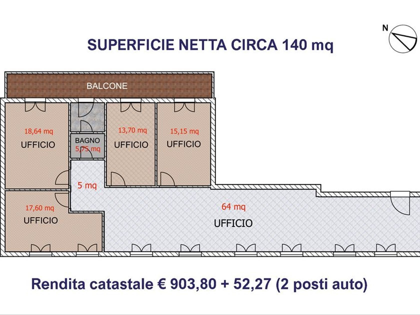 Ufficio Genneruxi, Cagliari, CA Affitto - Foto 3
