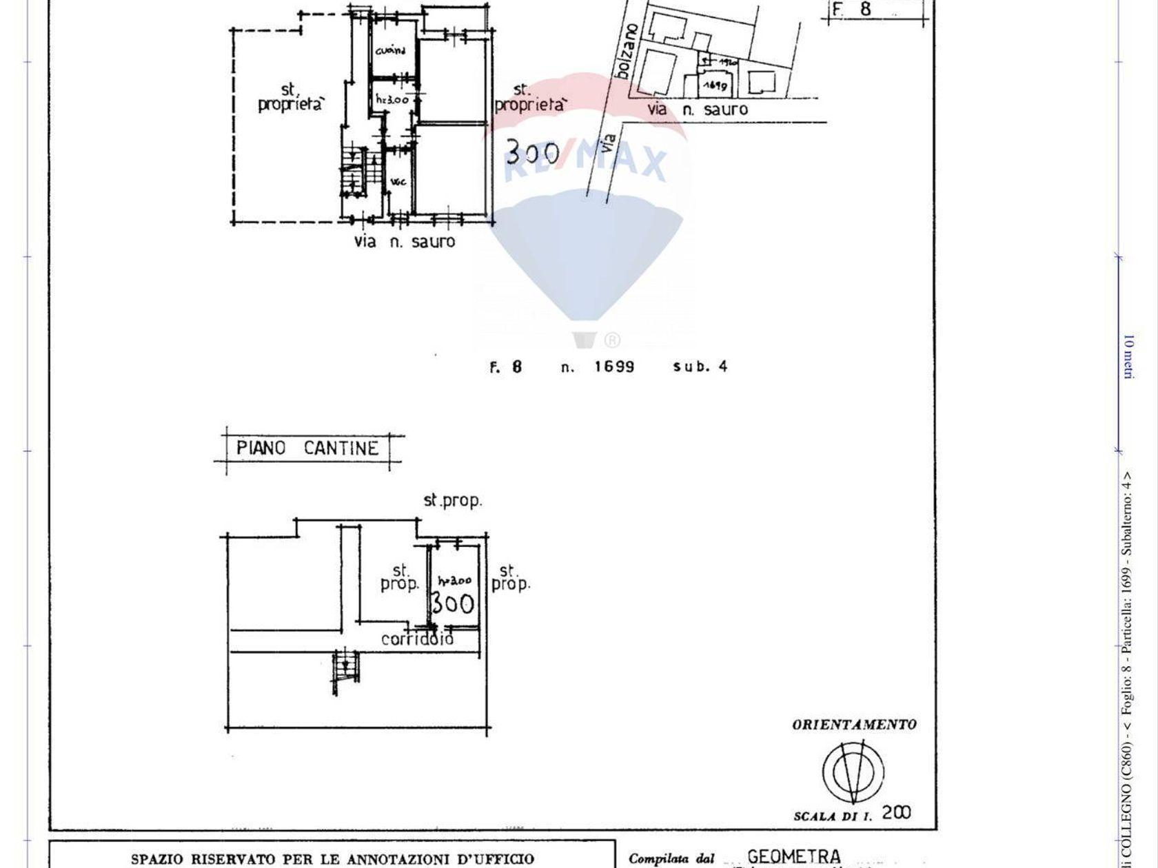 Casa Indipendente Santa Maria, Collegno, TO Vendita - Planimetria 2