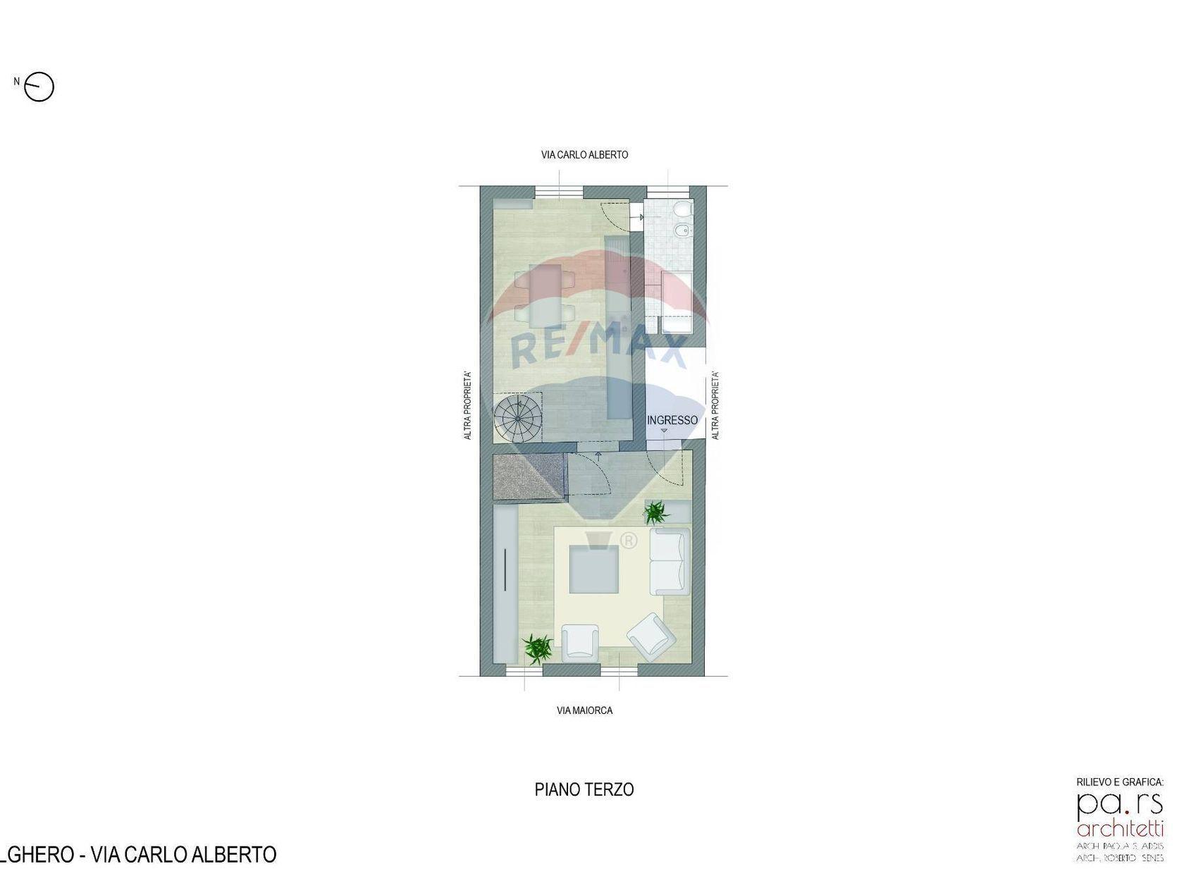 Appartamento Alghero, SS Vendita - Planimetria 1