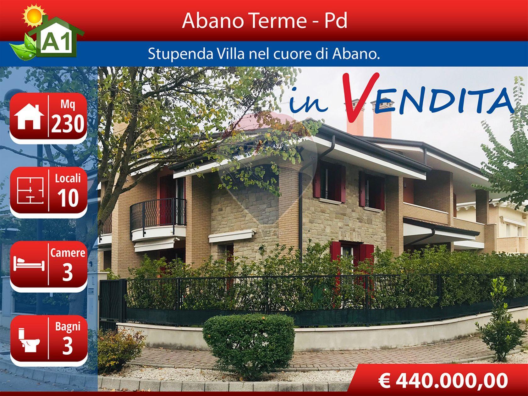 Casa Semindipendente Abano Terme, PD Vendita