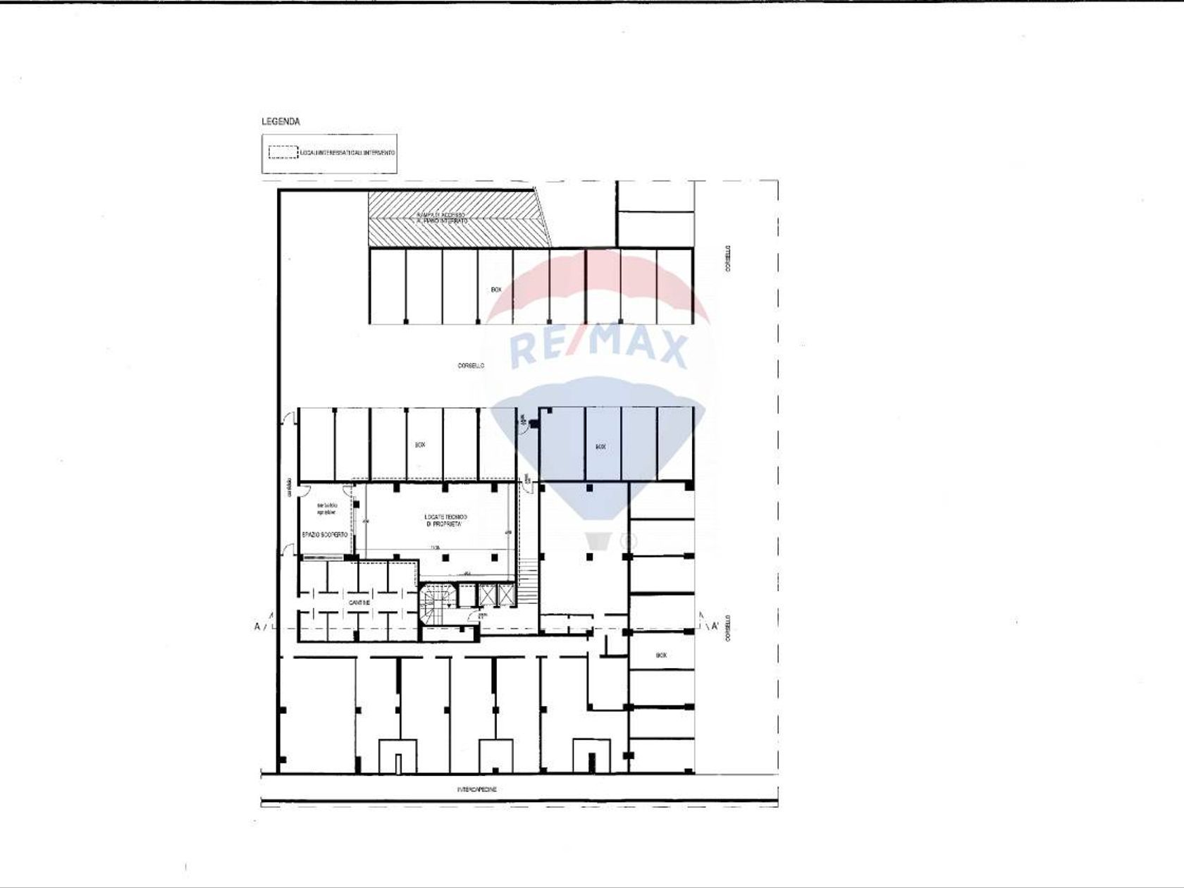 Ufficio Milano-bicocca Greco Monza Palmanova, Milano, MI Vendita - Planimetria 2